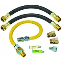BrassCraft PSC1095X L Safety Plus Gas and Water Install Kit for Water Heaters