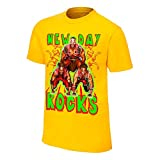 The New Day Pyramid of Positivity WWE Authentic Mens Yellow T-shirt-M