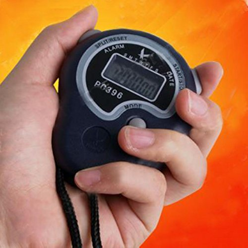 Ewinever Digital Stopwatch Timer with Whistles,Extra Large Display,Sports Stopwatch Timer Stop Watch Time Alarm Clock