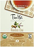 Davidson's Tea Tulsi Rooibos Chai, 8-Count Tea Bags (Pack of 12)