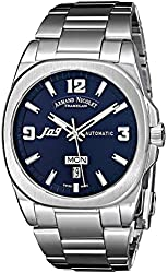 Armand Nicolet Men's 9650A-BU-M9650 J09 Stainless Steel Automatic Watch