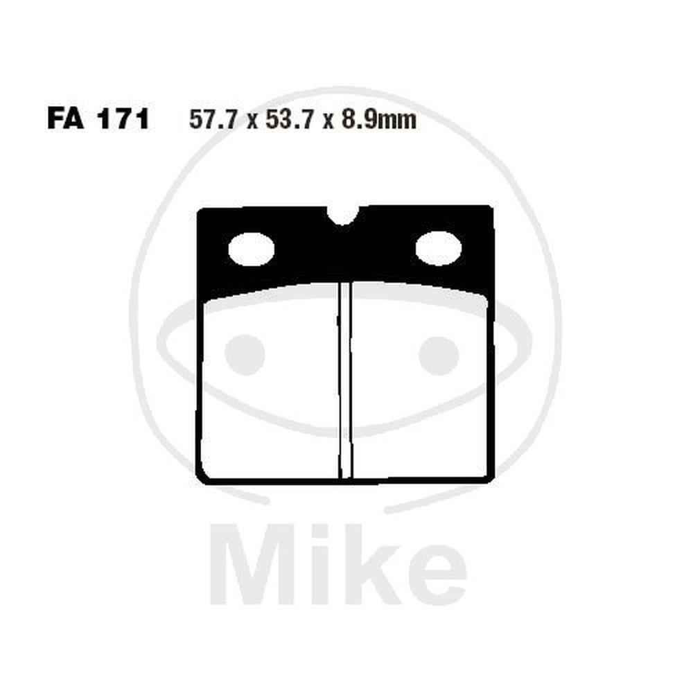 Ebc fa171hh brake pads (FA171HH) MCH284203