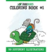 Frogburps Coloring Book #1: A Family Coloring Book (Frogburps ...