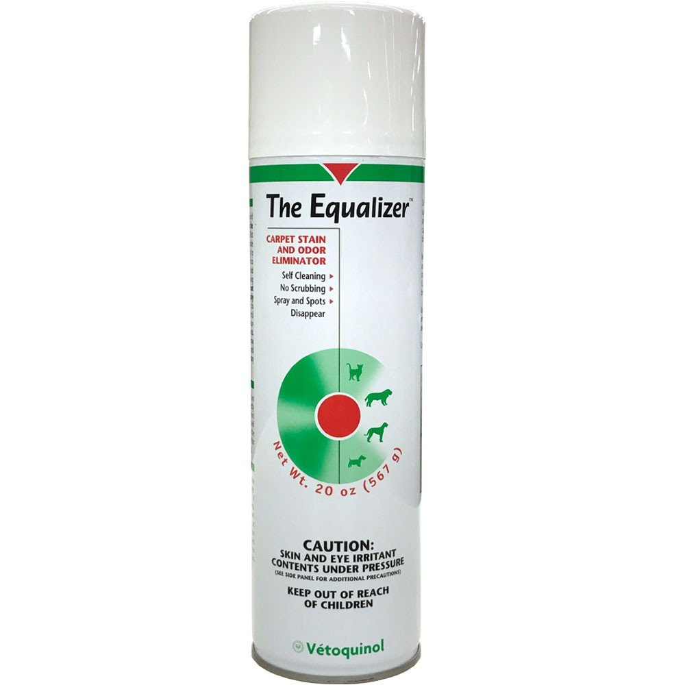 4 pack of Equalizer Carpet Stain & Odor Eliminator 20 oz aerosol