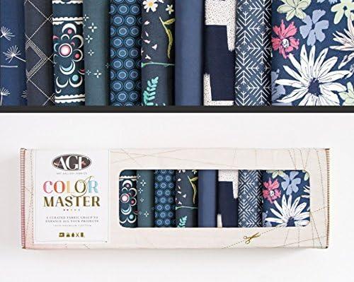 Art Gallery Fabrics Color Master Collectors Box of Fabric Fat Quarters per ...