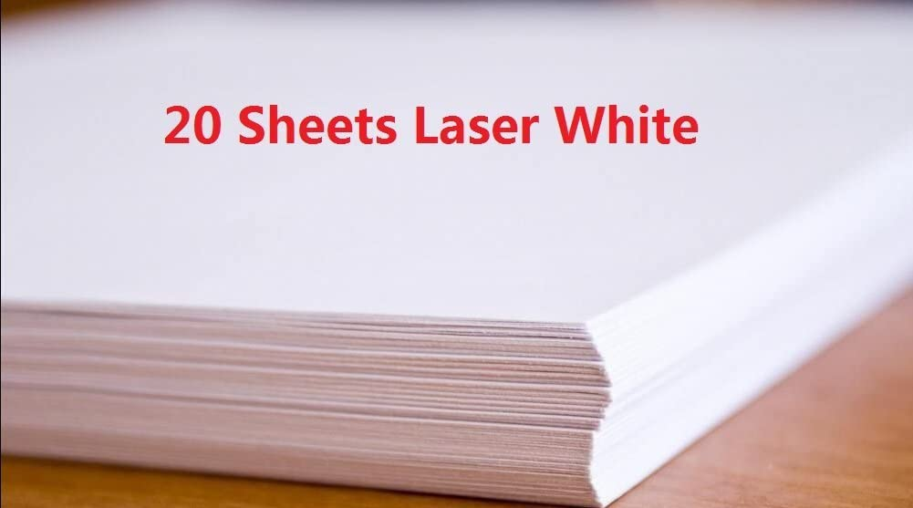 Amazon.com: 20 hojas Laser tobogán de agua calcomanía de ...