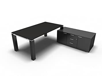 Chefschreibtisch Jet Evo Schreibtisch Mit Sideboard