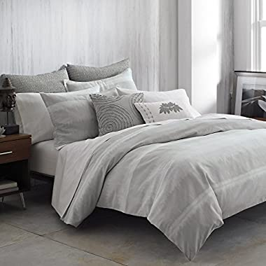 Under The  Canopy Nurturer Duvet Cover, Full/Queen, Balance Grey