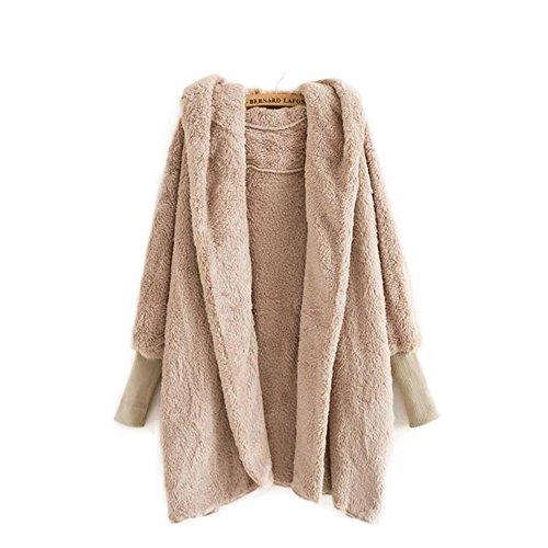 Girls Faux Shearling Coats - 4