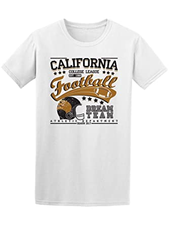 97105b59a Amazon.com: California College League Dream Tee Men's -Image by  Shutterstock: Clothing
