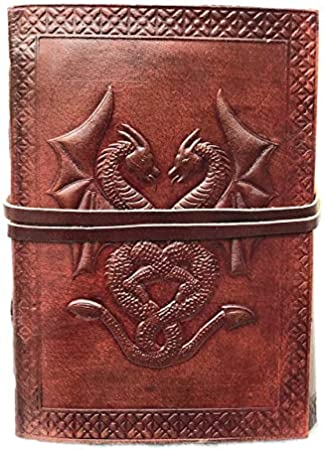 Leather Journal Diary Notebook Vintage Blank Handmade Book Gifts