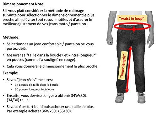 Jeans Aramid Onedaymore Noir Moto Renforcée De Doublée Hommes Protection wSEEIxqO4