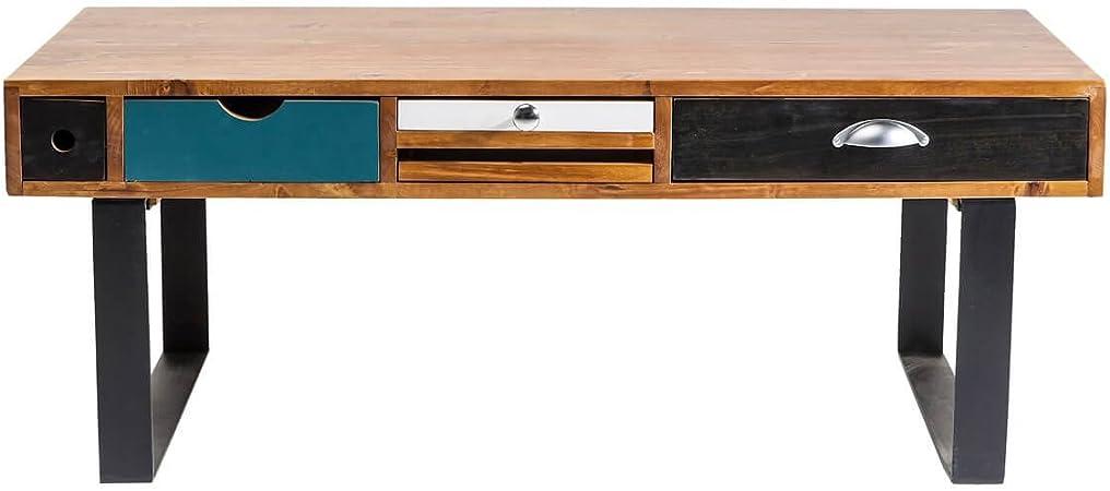 Kare Table Basse Table De Salon Baba Lou Design Bois Massif Bois