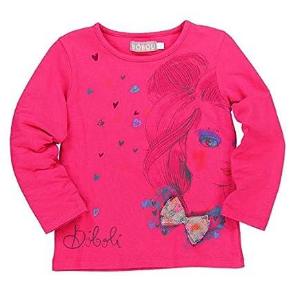 boboli Camiseta Punto Elástico - Camiseta para Bebés color carmin talla 8 años 479022