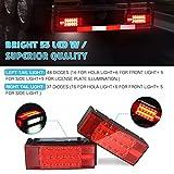 Kohree New LED Submersible Trailer Tail Light