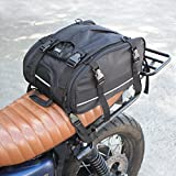 #2: VUZ Moto Expandable Motorcycle Tail Bag | Waterproof Motorcycle Luggage | For a Adventure and Urban Riders