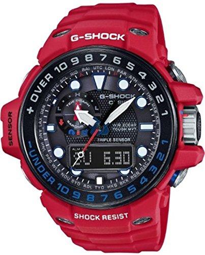 Casio G Shock Gulfmaster Quartz GWN1000RD 4A