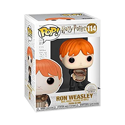 Funko Pop! Harry Potter: Harry Potter - Ron Puking Slugs with Bucket: Toys & Games