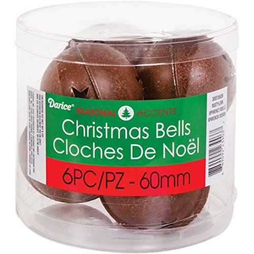 Darice 30015609 Jingle Bells W/Cutouts 2.3
