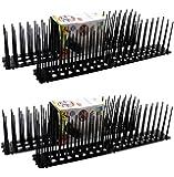 G&M Taubenabwehr Vogelspikes 4X 45cm | Vogelschreck | Vogelschutz | Taubenschutz
