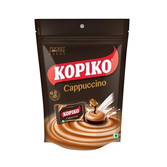 Kopiko Candies Coffe Cappuccino, 87.5g (Count of 25)
