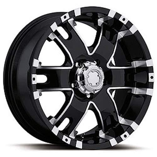Ultra Wheel 201B Baron Matte Black Wheel (17x9