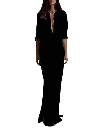 ZANZEA Ladies Strapless Sleeveless Vest Lace Crochet Beach Maxi Long Dress  Black 4 132406b0f