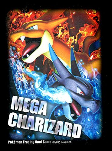 Pokemon Mega Charizard X And Y Trading Card Sleeves Pack Of 65