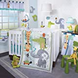 lambs and ivy baby bedding bumper - Lambs & Ivy Crib Bedding Set, Yoo-Hoo, 4 Piece
