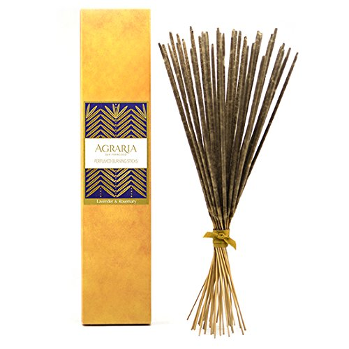 Agraria San Francisco Perfumed Burning Sticks, Lavender & Rosemary