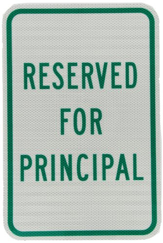 (Tapco RP-8 High Intensity Prismatic Rectangular Parking Sign, Legend