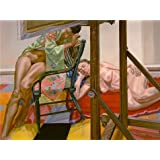 Oil painting 'Philip Pearlstein,Two Models from the Other Side of the Easel,1984' printing on high quality polyster Canvas , 24x32 inch / 61x82 cm ,the best Powder Room decoration and Home decor and Gifts is this Imitations Art DecorativePrints on Canvas