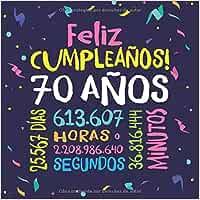 Feliz Cumpleaños - 70 Años: Un libro de visitas para