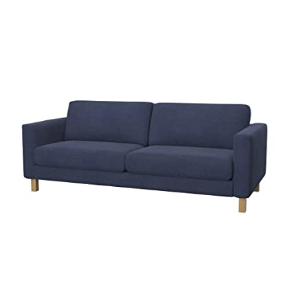 Exceptional Soferia   IKEA KARLSTAD 3 Seat Sofa Cover, Naturel Navy Blue