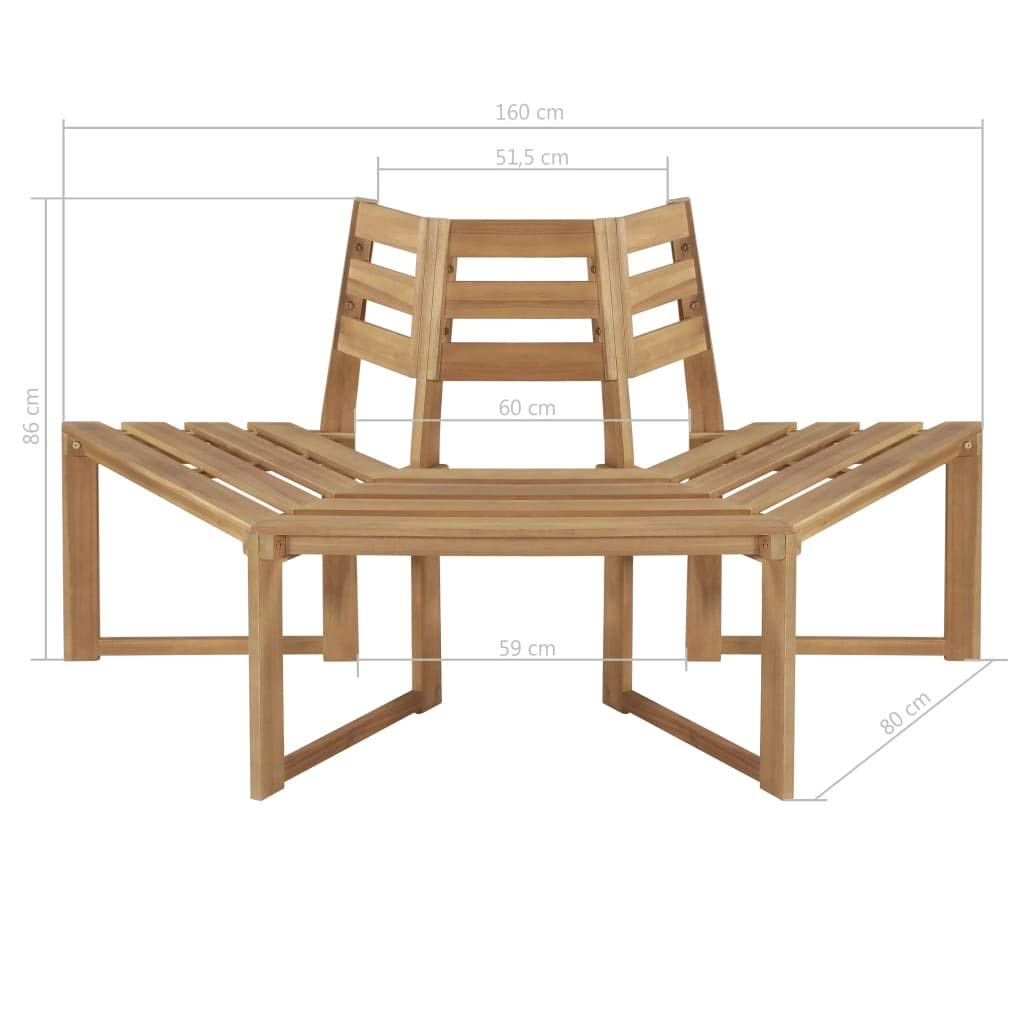 Outstanding Amazon Com Festnight Patio Surround Tree Bench Outdoor Squirreltailoven Fun Painted Chair Ideas Images Squirreltailovenorg