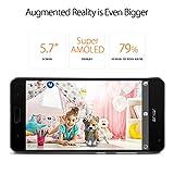 ASUS ZenFone AR 5.7-inch WQHD AMOLED 8GB RAM, 128GB storage LTE Unlocked Dual SIM Cell Phone, US Warranty (ZS571KL-S821-8G128G-BK)