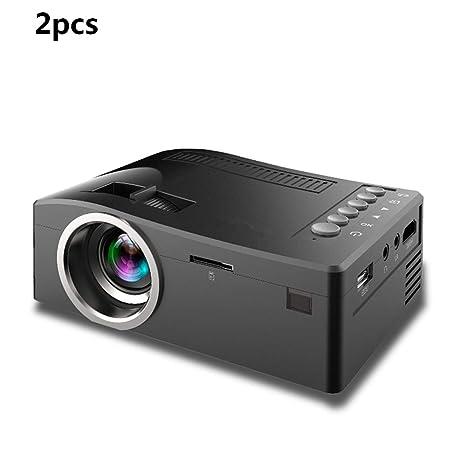 ZUKN Mini Proyector Portátil HD 1080P TFT LCD Sistema De Cine En ...