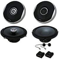 Infinity Primus Package 6.5 inch 2-way Car audio caoxial speakers & 6.5 Component system