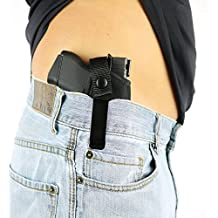 ComfortTac Concealed Carry Holster | Carry Inside The Waistband IWB or Outside The Waistband OWB | Size 3 Fits Glock 26, 27, 30, 43, M&P Shield 9mm, .40, .45 Auto, Ruger LC9, LC380, and Similar Guns