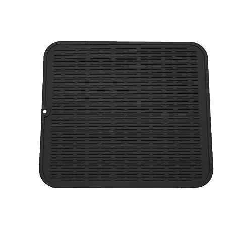 Amazon.com: ZLR - Alfombrilla de silicona para secar platos ...