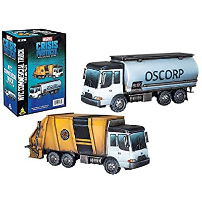 Atomic Mass Marvel Crisis Protocol: NYC Commercial Truck, Various  (CP14en): Toys & Games