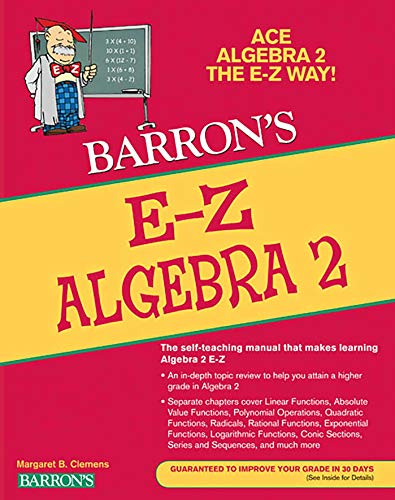E-Z Algebra 2 (Barron's E-Z Series) (Mcdougal Littell Math Course 3 Answer Key)