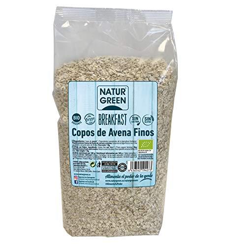 NaturGreen Copos de Avena Finos Sin Gluten Bio 1KG