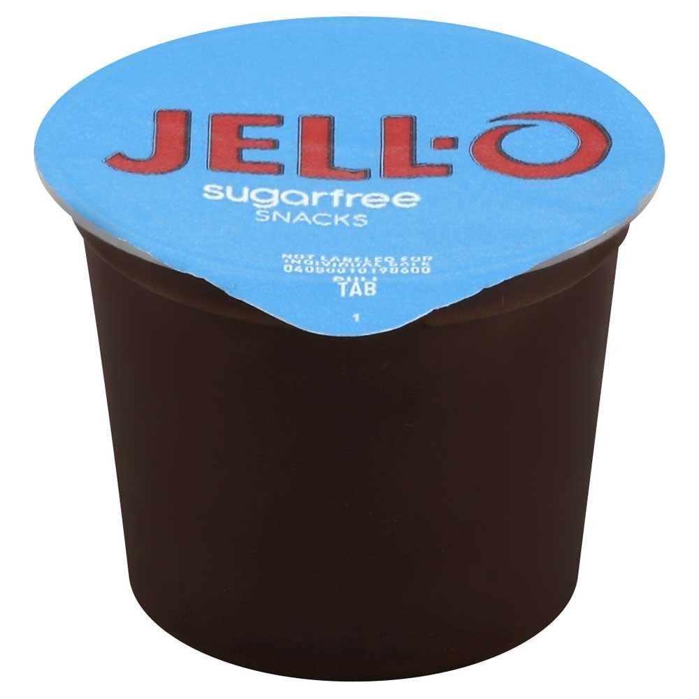 Jello Ready To Eat Sugar Free Chocolate Pudding - 4 per pack - 6 packs per case.