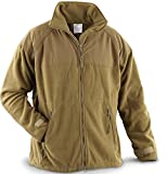 Polartec 300 Gram Coyote Fleece Jacket (Large)