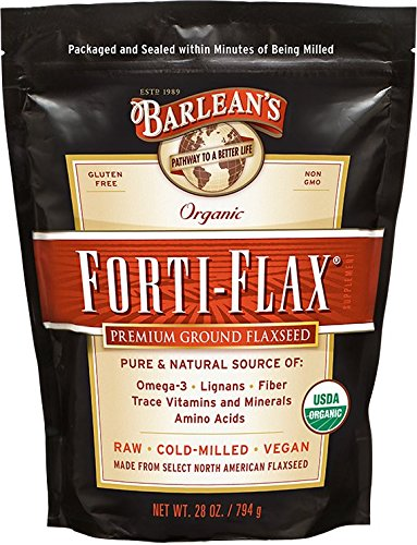 Barlean's Organic Oils Forti-Flax Flaxseed Supplements, 28 Ounce