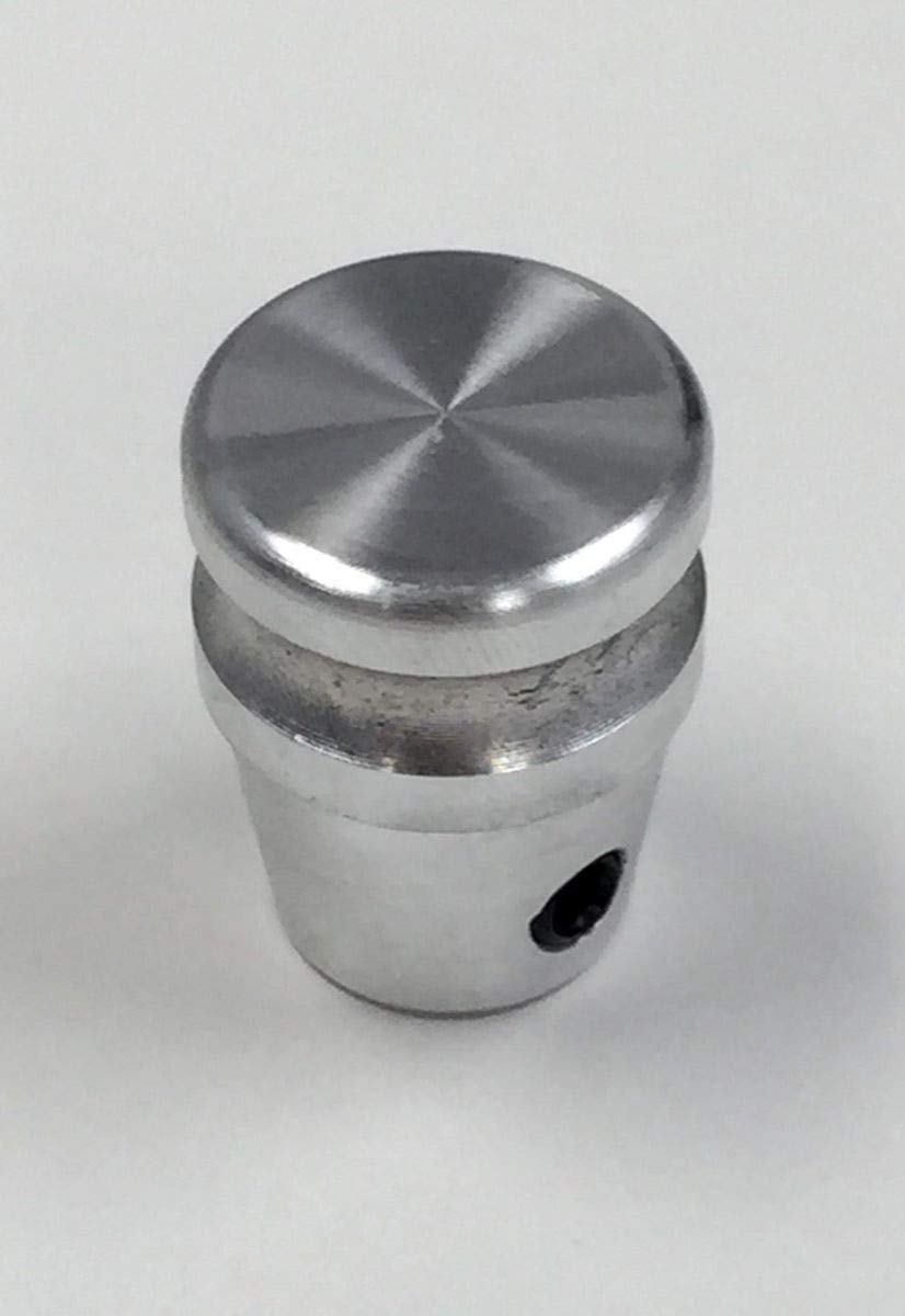 Pirate Mfg Hot Rod Machined Billet Aluminum Dash Knob W//Set Screw Rat Rod Gasser Custom