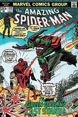Spider-Man Goblin's Last Stand Comic Book Superhero Poster 2
