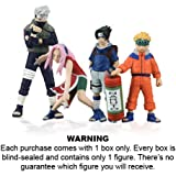 "Naruto Collection Mini-Figure Series #1 (1 figure in randomly selected blind box n randomly selected [~1.75"" to ~2.25""]) (Japanese Imported)"