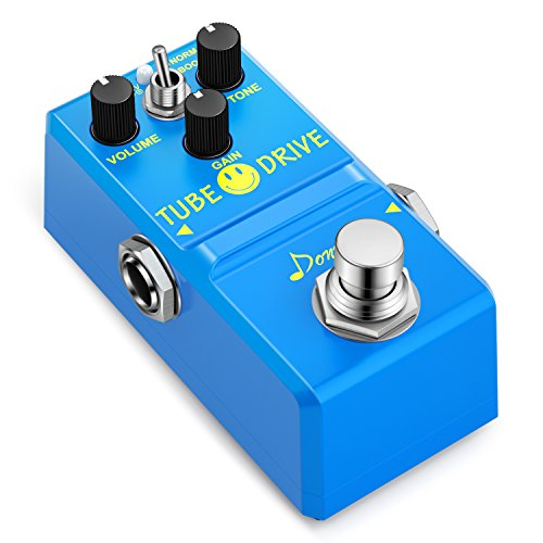 (Donner Tube Drive Overdrive Guitar Effect Pedal Super Mini)